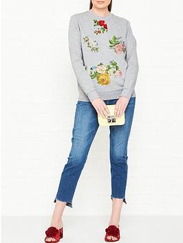 sportmax-code-sughero-floral-embroidered-sweatshirt-grey