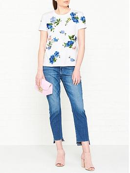 sportmax-code-marco-floral-embroidered-t-shirt-white