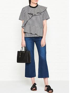 sportmax-code-hilde-multi-gingham-ruffle-blouse-blackwhite