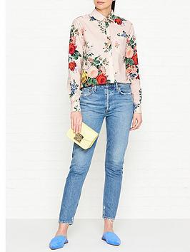 sportmax-code-gaspare-floral-print-shirt-multicolour