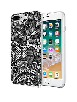 Kendall & Kylie Lace Print Protective Printed Case For Iphone 8/7/6/6S Plus