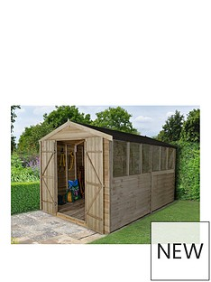 forest-forest-12x8ft-pressure-treated-apex-workshop-6-windows-double-doors-amp-assembly