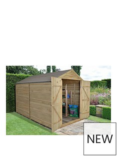 forest-forest-10x8ft-overlap-pressure-treated-apex-workshop-windowless-double-door-amp-assembly