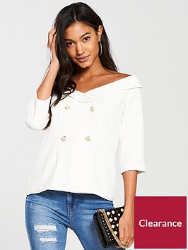 river-island-river-island-off-shoulder-bandeau-top--whte