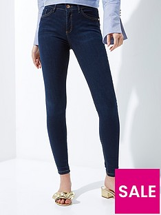 river-island-river-island-short-leg-amelie-terry-jeans--dark-auth