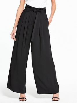 river-island-wide-leg-trouser--black