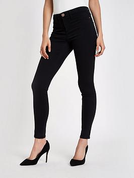 river-island-molly-long-leg-skinny-jeans-black