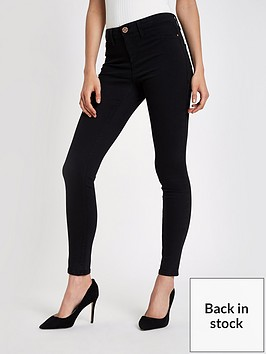 river-island-molly-long-leg-skinny-jeans-black