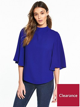 river-island-cape-blouse--blue