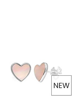 love-pearl-sterling-silver-pink-mother-of-pearl-8mm-heart-stud-earrings