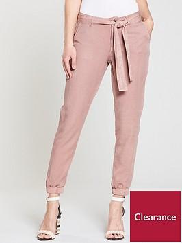 v-by-very-tencelnbspcuffed-hem-trouser-dusty-pink