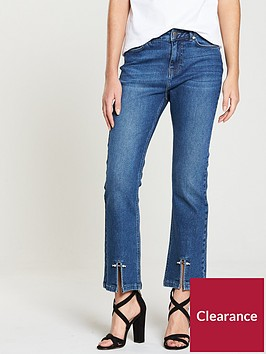 v-by-very-cropped-kickflarenbspjeans-with-pearl-detail
