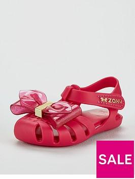 zaxy-glamour-bow-jelly-sandal