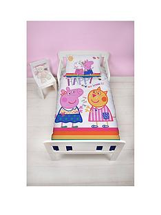 peppa-pig-peppa-hooray-toddler-bed-duvet-cover-set