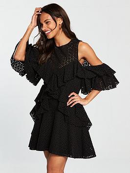 v-by-very-embroidered-anglais-frill-dress-black