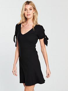 v-by-very-jersey-rib-shift-dress