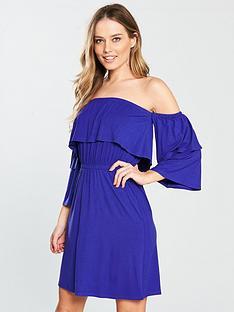 v-by-very-tiered-bardot-jersey-dress
