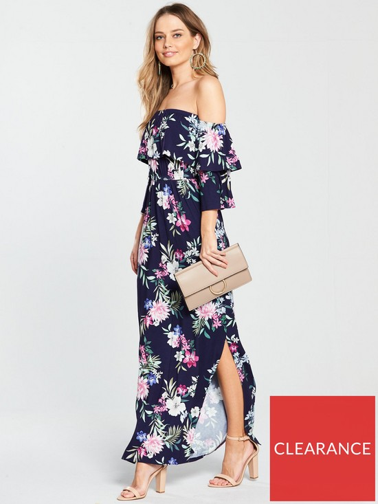ac5065af56b8 V by Very Tiered Jersey Maxi Dress | very.co.uk