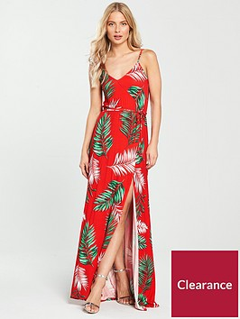 v-by-very-wrap-split-front-maxi-dress-floral-printnbsp