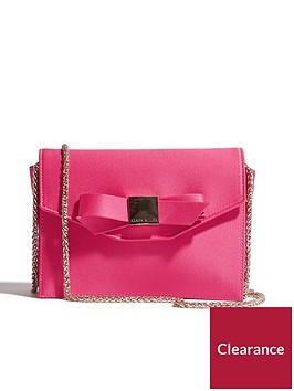 karen-millen-bow-occasion-bag-pink