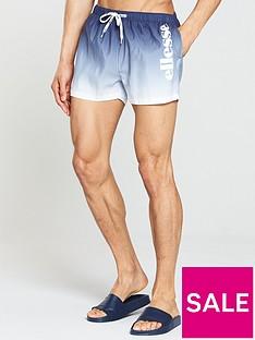 ellesse-rombo-faded-woven-swim-shorts