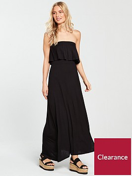 v-by-very-sleeveless-split-jersey-maxi-dress-black