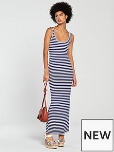 v-by-very-petite-scoop-neck-jersey-maxi-dress-blue-stripe