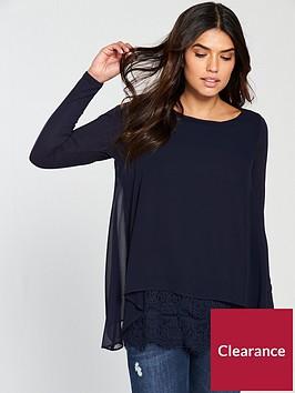 wallis-lace-hem-overlayer-top