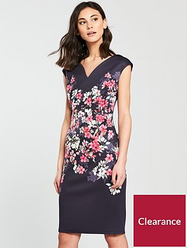 wallis-blossom-scuba-dress-navy