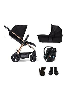 mamas-papas-sola2-rose-gold-5-piece-bundle-pushchair-carry-cot-car-seat-adaptor-and-cupholder