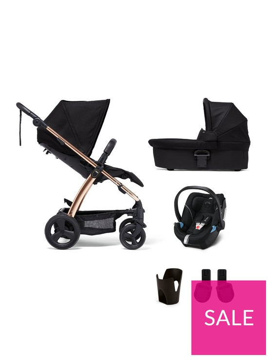 d3ded2b6f5 Mamas & Papas Sola2 Rose Gold 5-Piece Bundle (Pushchair, Carry Cot, Car  Seat, Adaptor and Cupholder) | very.co.uk