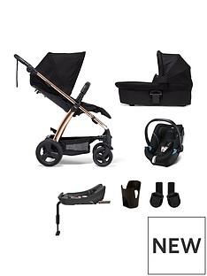 mamas-papas-mamas-amp-papas-sola2-rose-gold-6-piece-bundle-pushchair-amp-carry-cot-car-seat-isofix-base-adaptor-amp-cup-holder