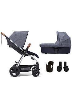 mamas-papas-sola2-chrome-4-piece-bundle-pushchair-carrycot-cupholder-and-adaptor
