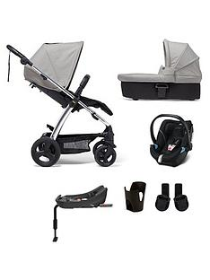 mamas-papas-sola2-chrome-6-piece-bundlenbsppushchair-carry-cot-car-seat-isofix-base-adaptor-and-cupholder