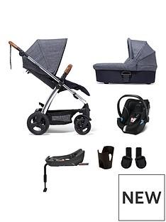 mamas-papas-sola2-chrome-6-piece-bundlenbsppushchair-carry-cot-car-seat-isofix-base-adaptor-and-cupholder