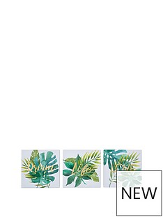 graham-brown-tropical-leaves-wall-art-trio