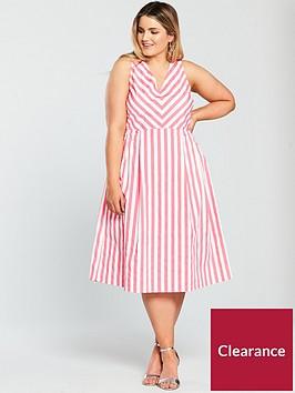 junarose-agnes-sleeveless-midi-dress-stripe