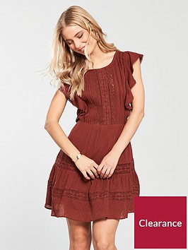 v-by-very-lace-amp-trim-day-dress-rust