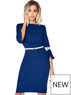 paper-dolls-paper-dolls-flute-sleeve-midi-dress