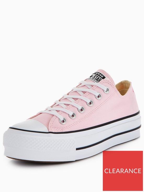 converse platform ox pink