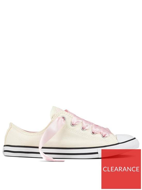 93c1f699b221 Converse Converse Chuck Taylor Dainty Ox - Cream Pink