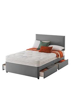 layezee-made-by-silentnightnbspfenner-bonnel-orthonbspdivan-bed-with-storage-options