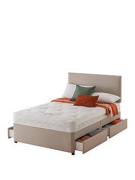 layezee-made-by-silentnightnbspfenner-bonnel-orthonbspdivan-bed-with-storage-options
