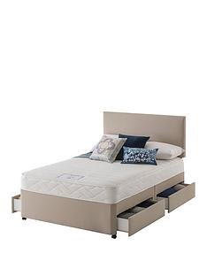 layezee-made-by-silentnightnbsplayezee-fenner-bonnel-memory-divan-bed-with-storage-options