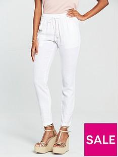 v-by-very-cutwork-linen-trouser-white