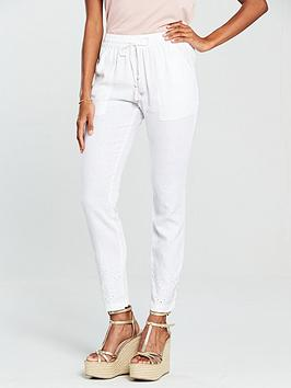 v-by-very-cutwork-linen-trouser-white