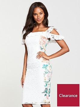 v-by-very-lace-cold-shoulder-midi-dress--nbspivory