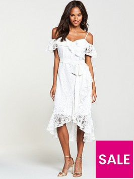 v-by-very-lace-cold-shoulder-dress-white
