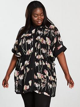 Religion Curve Thrive Printed Tunic