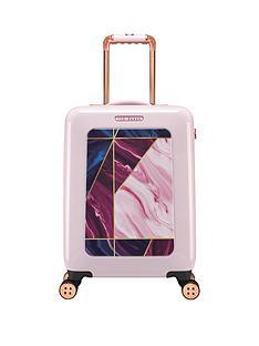 ted-baker-balmoral-4-wheel-cabin-case-pink